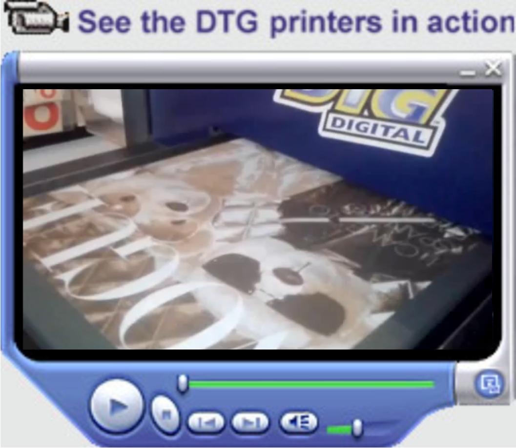 DTG print 3 color