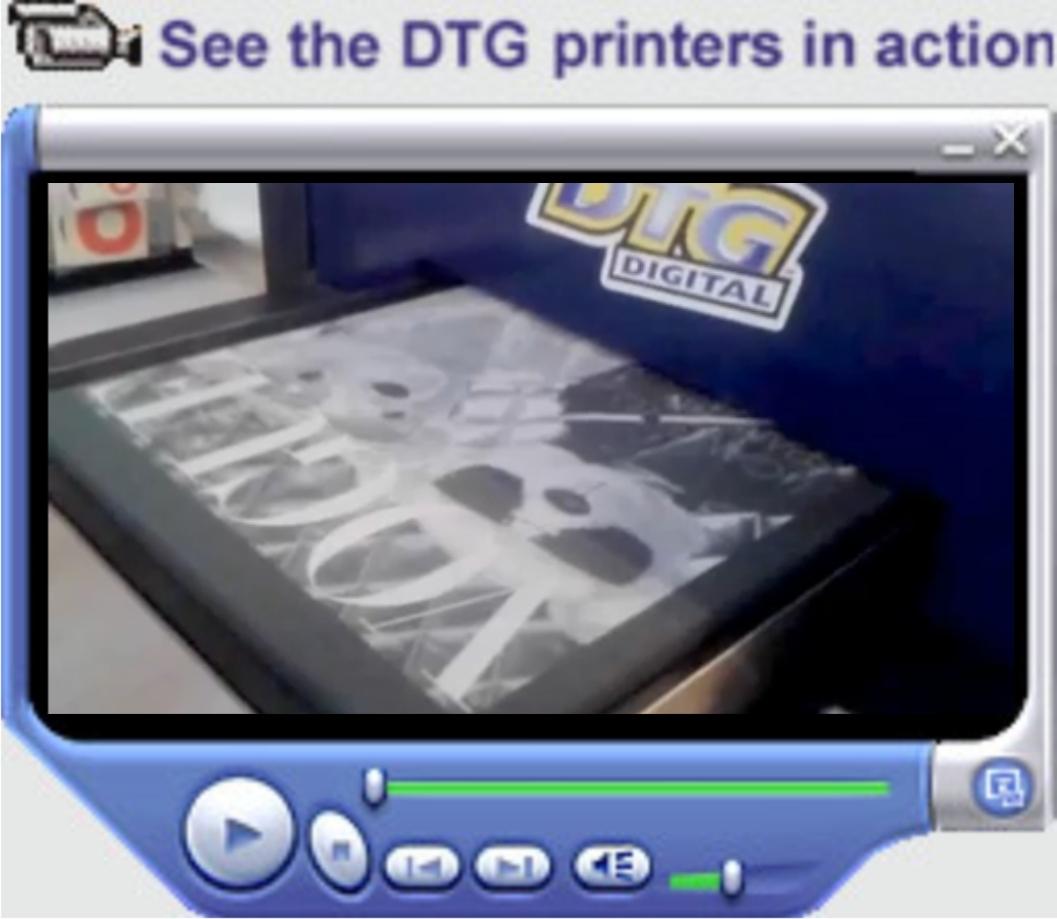 DTG print 3 vit